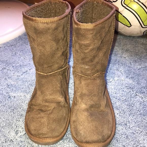 14be0ea0c9f Brown imitation ugg boots